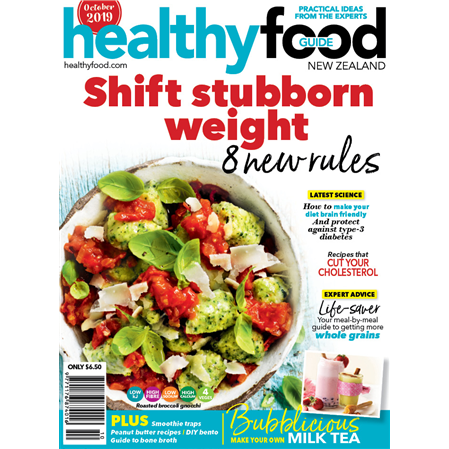 Healthy food guide magazine with bonus mini chopping board forumfinder Image collections